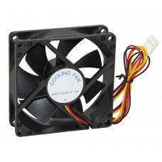 Вентилятор 80 mm GTL Black, 80x80x25мм, 2500 об/мин, 3 pin