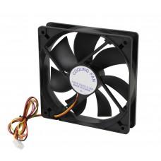 Вентилятор 120 mm GTL Black, 120x120x25мм, 2500 об/мин, 3 pin